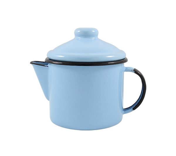 Bule-para-chá-azul-claro